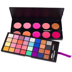 Coastal Scents 42 Color Double Stack Shimmer Eye Shadow and Blush Palette (PL-007) -- This is an Amazon Affiliate link. Want additional info? Click on the image.