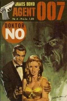 'Dr. No' by Ian Fleming (foreign language paperback cover)