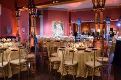 PAFA reception room detail  | Pennsylvania Wedding Photography Ashley Gerrity Photography
