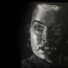 I need someone to show me my place in all this. In progress: remaking Star Wars - The Last Jedi trailer with scratchboard comic style.  Cut 6 - Rey. Cut 5 - Kylo.  #starwars #scratchboard