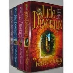 The Velvet series by Jude Deveraux.  4 books in this series.