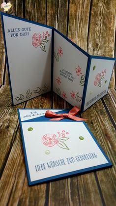 Craftwork Cards Die Set Meilleur Jour Anniversaire Voeux or RoseSet of 4