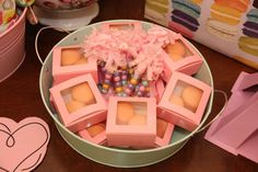Savannah's 6th Paris Tea Party | CatchMyParty.com. Mini candy wands (customizable) by @lisfrankparties on Instagram.