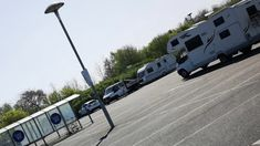 Travellers invade deserted Tesco car park Southport, Blackpool, Car Parking, Recreational Vehicles, Deserts, News, Travel, Viajes, Camper Van