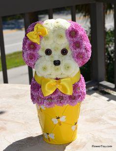 FlowerToy Mini Joyful Puppy