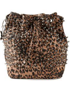 42835972f4 Women - Mia Bag Studded Bucket Bag - Bernardelli Online