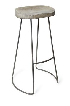 Roger Large Bar Stool - Soft Industrial Spring 2014 - French Connection
