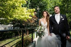 Nadia and Jeff's wedding at the Royal Conservatory is a stunning modern take on a city garden party! Conservatory, Mermaid Wedding, Garden Wedding, Wedding Dresses, Bouquets, Party, Fashion, Bride Dresses, Moda