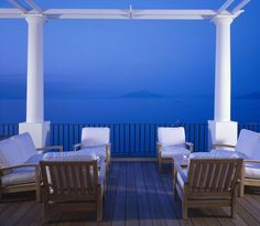 Located on the island of Capri, the J.K. Place features an outdoor pool with panoramic views over the Bay of Naples.