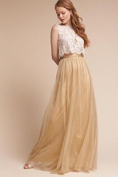 Slide View: 3: Louise Tulle Skirt