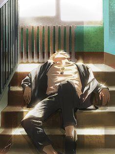 Fanarts Anime, Manga Anime, Anime Art, Handsome Anime Guys, Hot Anime Guys, Hottest Anime Characters, Arte Pop, Nanami, Manga Games