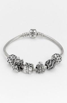 site>>PANDORA Jewelry Online Shop More than off! Pandora Beads, Pandora Bracelet Charms, Pandora Jewelry, Bracelet Set, Charm Jewelry, Jewlery, Pandora Collection, Jewelry Collection, Casual Outfits