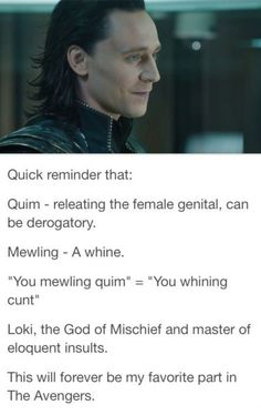 Loki The Master Of Insults
