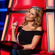 Kylie ready for The Voice UK in her coaches chair