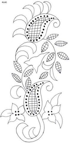 Marvelous Crewel Embroidery Long Short Soft Shading In Colors Ideas. Enchanting Crewel Embroidery Long Short Soft Shading In Colors Ideas. Jacobean Embroidery, Embroidery Motifs, Ribbon Embroidery, Machine Embroidery, Embroidery Needles, Embroidery Kits, Wool Applique, Applique Patterns, Textile Patterns