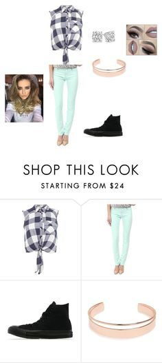 """""""sandy"""" by shakiadinkins-1 on Polyvore featuring beauty, Miss Selfridge, Love Moschino, Converse and Leith"""