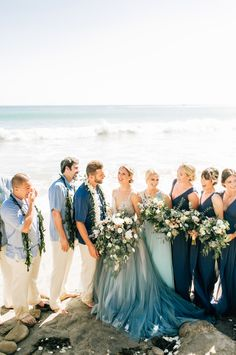 Blue Wedding Gown by Hailey Paige and Chantel Lauren Designs at Malibu Beach Wed. Blue Wedding Gown by Hailey Paige and Chantel Lauren Designs at Malibu Beach Wed. Blue Wedding Gown by Hailey Paige an. Blue Wedding Gowns, Beach Wedding Colors, Blue Wedding Shoes, Colored Wedding Dresses, Boho Wedding Dress, Light Blue Wedding Dress, Aqua Wedding, Tiffany Wedding, Blue Weddings