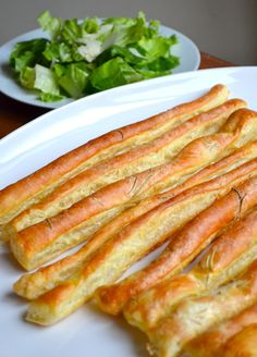 Recipe For Puff Pastry Breadsticks - When did you got to Rome and bring us back these fresh breadsticks?
