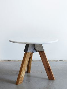 HENRY WILSON, A3-JOINT: a joinery system which can be used to create super-sturdy tables and stools.