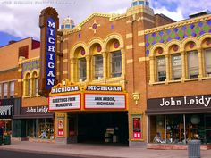 Michigan Theatre (Ann Arbor, Michigan) -- © 2003 Joe Braun Photography
