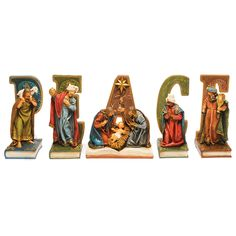 Peace Nativity Scene - Creations and Collections