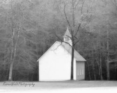 Fine Art Photography Soft Black and White by KarenWebbPhotography