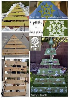 Oooh wow I love this idea... we could have so much fun painting and decorating it... we could sand it off and do a new one each year...