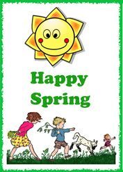 happy spring activities for kids,  lesson plans, free printable spring worksheets, spring kids crafts and  games