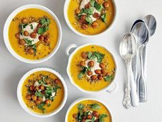 the carrot soup
