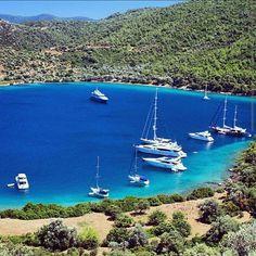 Bodrum Cennet Koyu / Heaven Bay in Bodrum. (Turkey)