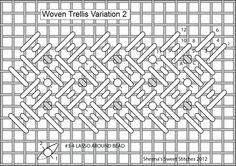 Woven Trellis Variation 2