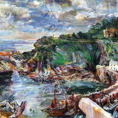 """«Oscar Kokoschka """"Polperro II"""" 1939 Tate Modern - London"""