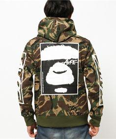 AAPE(エーエイプ)のAAPE Fancy Zip Up Hoodie(パーカー)|詳細画像