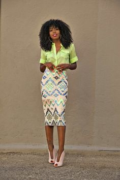 Love the design from this skirts