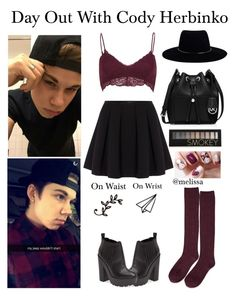"""""""Date With Cody Herbinko !!!!!!!!"""" by mely-carrasco ❤ liked on Polyvore featuring Topshop, Forever 21, River Island, Polo Ralph Lauren, Kendall & Kylie, MICHAEL Michael Kors and Zimmermann"""