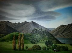 Justin Summerton is a New Zealand artist, who lives in Dunedin, New Zealand. Justin Summerton is a surrealist painter who depicts a dreamlike world in his work, often presenting New Zealand as a prime. New Zealand Art, Fine Art Gallery, Contemporary Artists, New Art, Landscape Paintings, Australia, World, Photography, Travel
