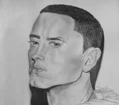 Shady by Morgan Penney my portrait drawing of Eminem :) #Eminem #MarshallMathers #SlimShady #music #art #rap #portrait #drawing #famous #celebrity #icon