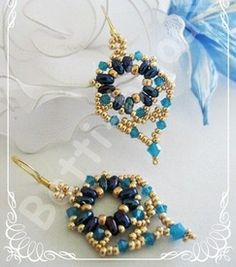Free Patterns from Bitti Bijoux featured in Bead-Patterns.com Newsletter!