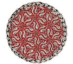 Çini Tabak Turkish Art, Turkish Tiles, The Body Shop, Sephora, Traditional Tile, Persian Pattern, Fantasy Paintings, Tile Patterns, Islamic Patterns