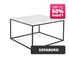 Vi tilbyr møbler, tilbehør og et bredt utvalg av møbler til hjemmet. Med rask levering og til gode priser på Trademax!