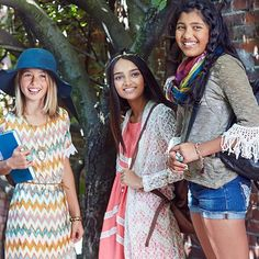 Go back to school in autumn boho style #BackToSchoolStyle #zulilyfinds