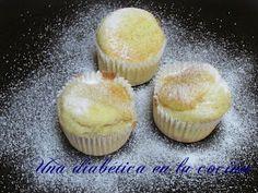 Una diabética en la cocina: Magdalenas aptas para diabéticos Muffin, Breakfast, Food, Gluten Free Cupcakes, Sugar Free Desserts, Food Cakes, Sunflower Oil, Lactose Free, Morning Coffee