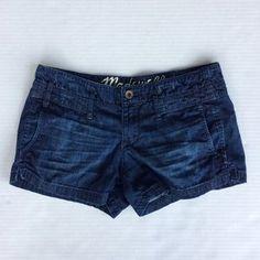 Madewell Pants - Madewell dark denim shorts