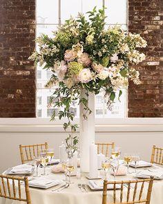 http://www.marthastewartweddings.com/231102/glamorous-wedding-centerpieces/@center/272498/centerpieces#/176699 Free-form Centerpiece