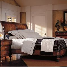 Found it at Wayfair - The Classic Portfolio British Colonial Platform Customizable Bedroom Set