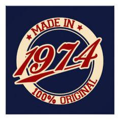 Made in 1977 né 42th Année Anniversaire Cadeau âge présent Vintage Drôle Blague 42