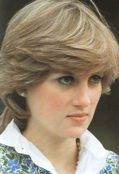 A young Lady Diana Spencer