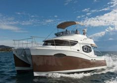Summerland 40 Catamaran Charter, 3 cabins, 6 berths. Available in France.