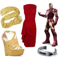 """Iron Man Prom"" by soundofinevitability on Polyvore"