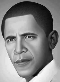 A Portrait of our President Barack Obama